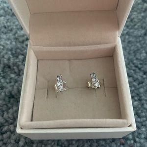 Pandora silver studs